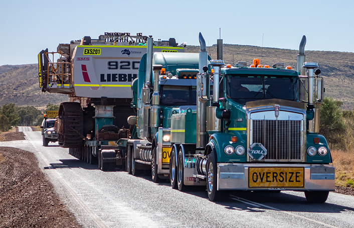 Oversize load trucking companies