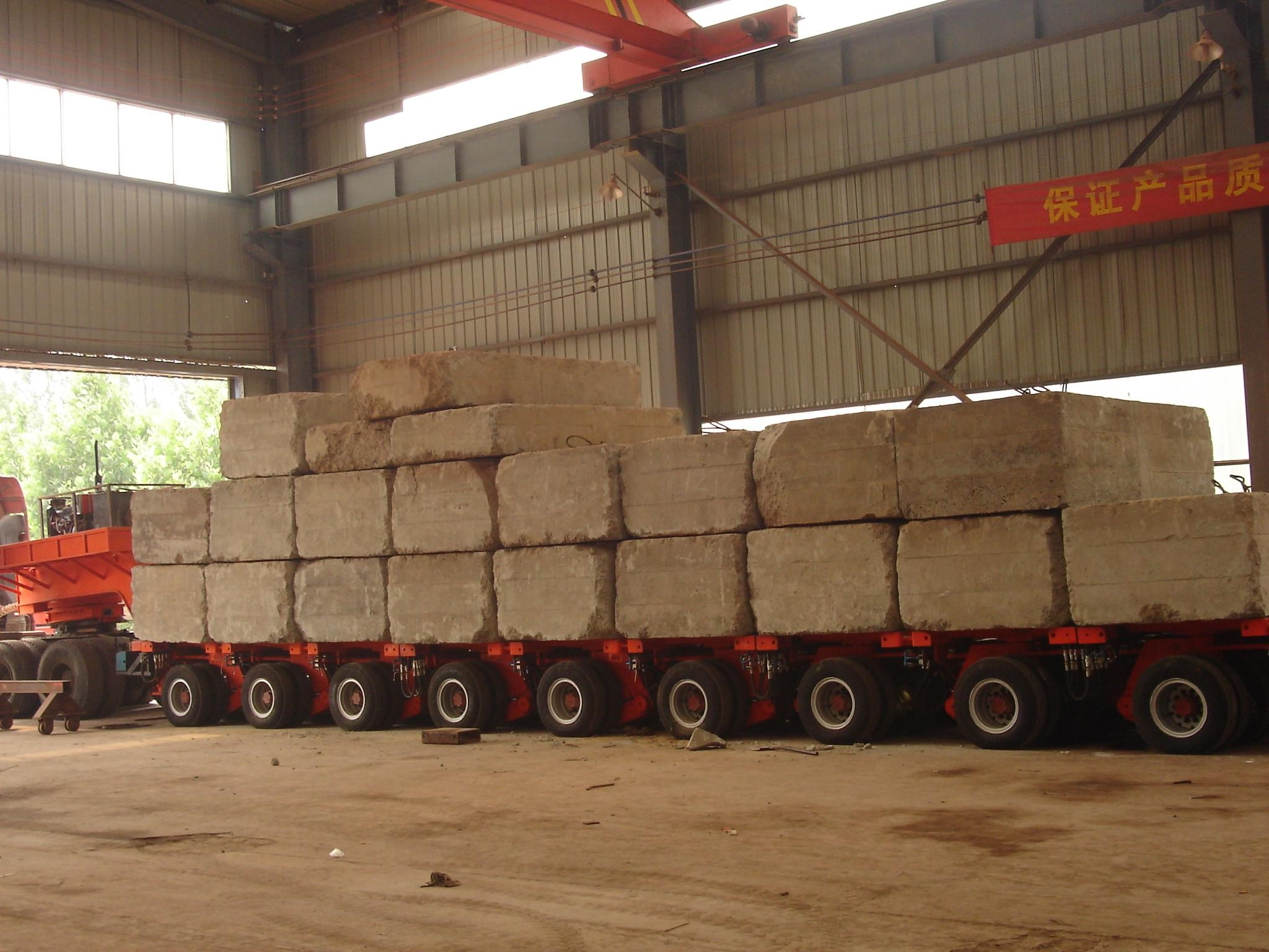 Heavy haul companies are experienced with loading oversized freight.